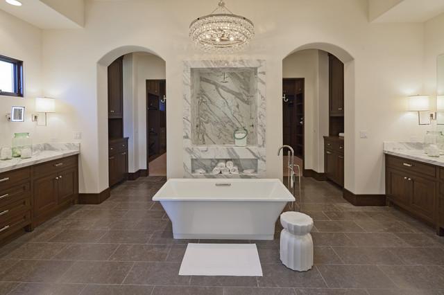 Via Strada Traditional Bathroom Orange County By Kathleen Dipaolo Designs