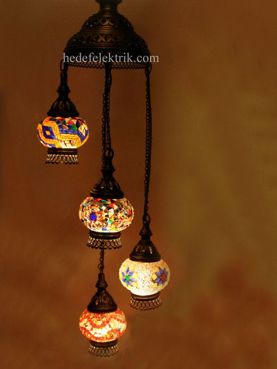 Turkish Style - Mosaic Lighting - Code: HD-04160_52
