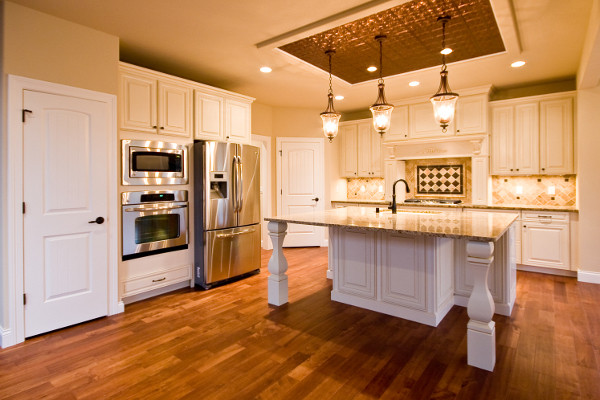 French Country Style Home traditional-kitchen