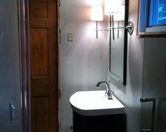 Narrow Wall Sconces For Bathroom : Help - narrow wall sconces for bathroom