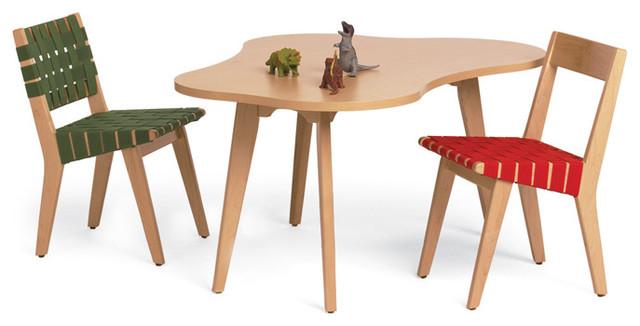 knoll kids - Child's Amoeba Table modern-kids-chairs