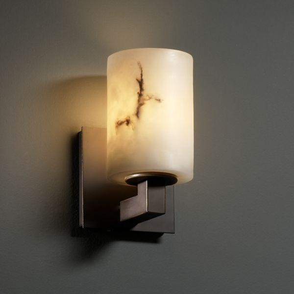 Justice Design FAL-8921-10-DBRZ Modular 1-Light Wall Sconce Lumenaria Collection wall-sconces
