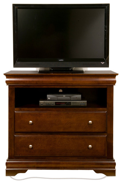 chesapeake tv media chest with 2 drawers contemporary