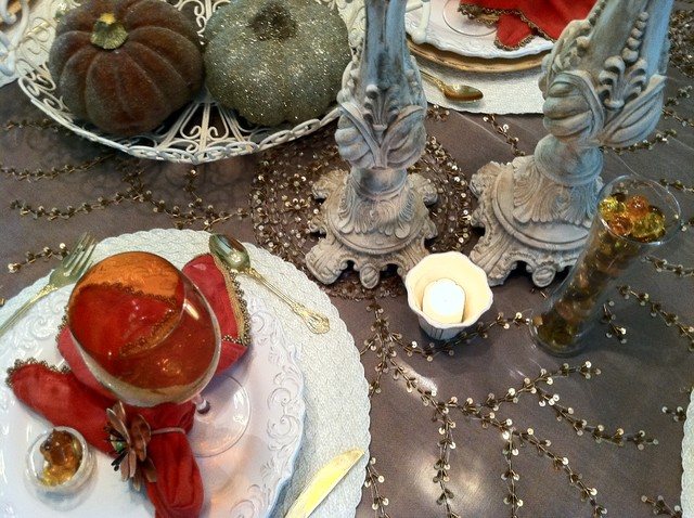 Fall Tablescape eclectic