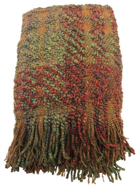 Montauk Throw, Autumnal traditional-throws