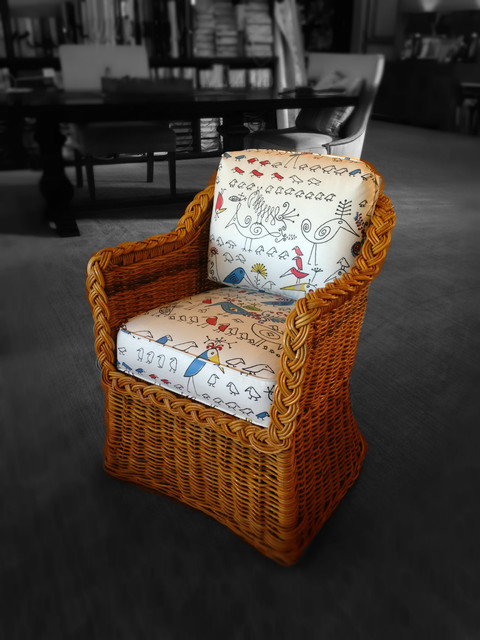 Reupholstery traditional