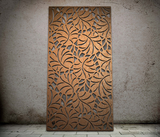 Lily pond design - laser cut screen - Modern - Screens And Room Dividers - east midlands - by ...