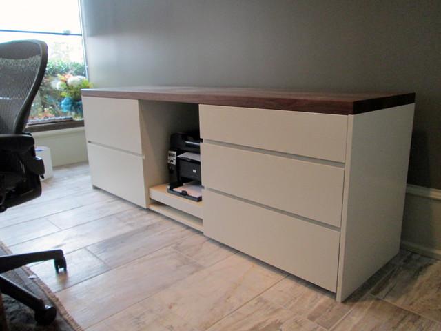 Modern Printer/File Cabinet - Modern - Filing Cabinets - atlanta - by Skylar Morgan Furniture ...