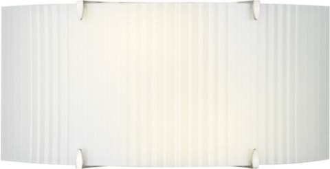Edge Bow Wide Flushmount/Wall Sconce contemporary-wall-lighting