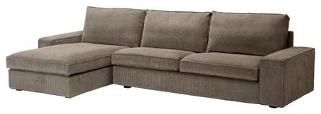 KIVIK Sofa and chaise lounge modern-sectional-sofas
