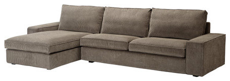KIVIK Sofa and chaise lounge Scandinavian Sectional