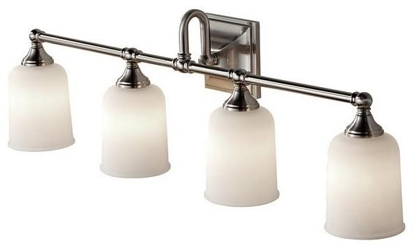 4 Bulb Vanity Strip - Contemporary - Bathroom Lighting And Vanity Lighting - by Chachkies