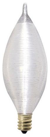 Set of 6 Soft Light Chandelier Bulb traditional-light-bulbs