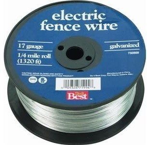 1717 Gauge 1/4 Mile Electric Fence Wire modern-fencing