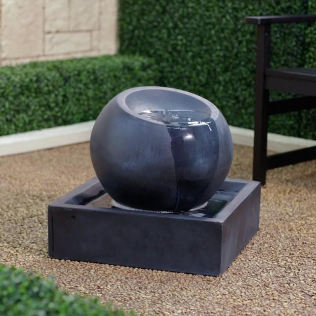 Modern+Fountains FeatherCast Zen Bowl Outdoor Fountain  Modern
