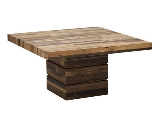 Tahoe Square Dining Table - http://www.highfashionhome.com/tahoe-square-dining-table.html