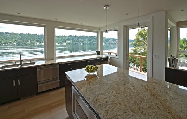 Lake Sammamish Residence contemporary-kitchen