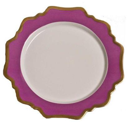Anna's Palette Purple Orchid Dinnerware contemporary-dinnerware