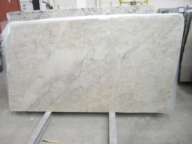 Exotic White Granite Quartzite Slabs from Italy contemporary-kitchen ...
