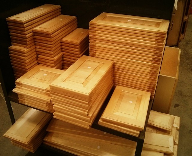 New Cabinet Doors and False Drawer Fronts - Contemporary - boston - by ...