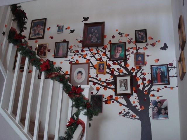 Cherry Blossom Tree Family Tree Traditional Wall