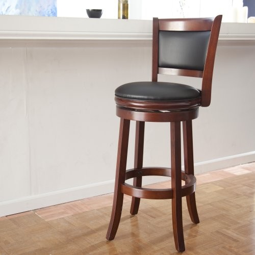 Boraam Augusta 29 In Swivel Bar Stool Contemporary