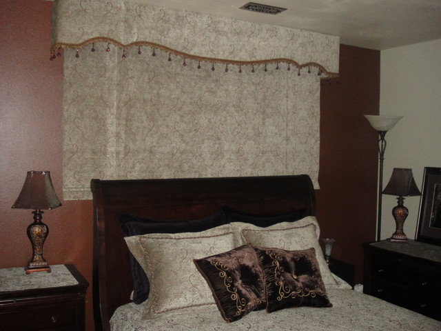 One Fabric - Multiple Interior Treatments traditional-window-treatments