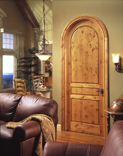 Tuscan door mediterranean interior doors by trustile for Mediterranean interior doors