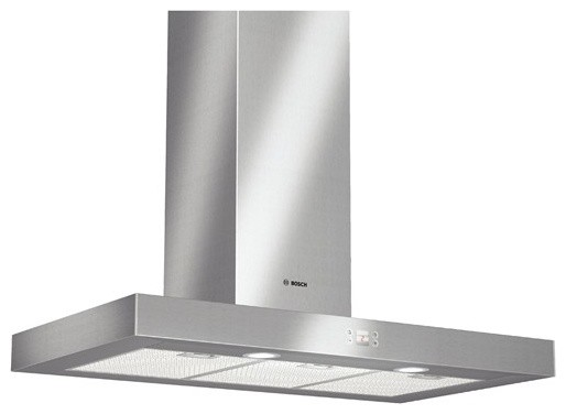 Bosch Stainless Steel Slim Silhouette Hood modern kitchen hoods and vents