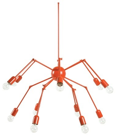 Double Octopus Pendant modern-kids-lighting