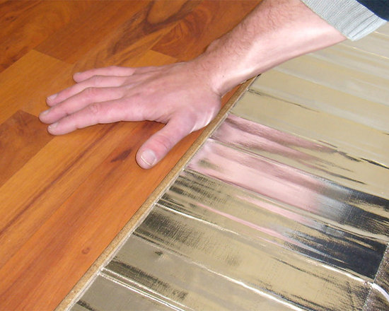 Foil Heating Mats for Wooden and Floating Floors - The NEW Warmup CUT & TURN Foil heating mat is a streamlined electric radiant floor heating system designed for use under laminate, engineered wood and other floating floors.