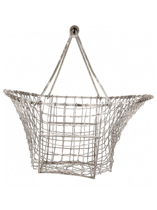 Vintage Wire Basket - Vintage wire basket from France.