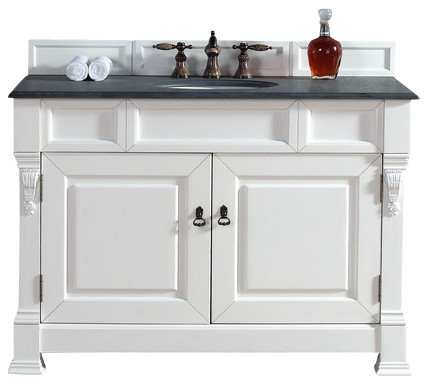 ... Black Rustic Stone Top farmhouse-bathroom-vanities-and-sink-consoles
