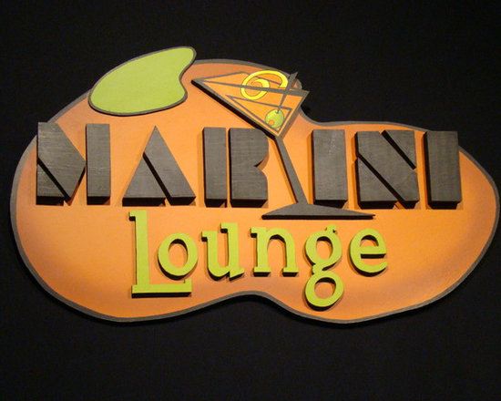 """Martini Lounge - 26"""" by 14"""""""