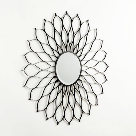 Floral Burst Mirror eclectic-wall-mirrors