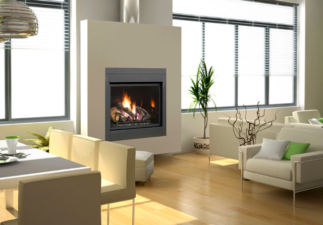 FPX 864 TRV Clean Face Gas Fireplace modern-fireplaces