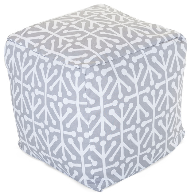 Outdoor Gray Aruba Small Cube modern-footstools-and-ottomans