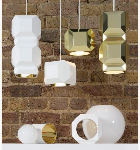 One Light Only White Large contemporary-pendant-lighting