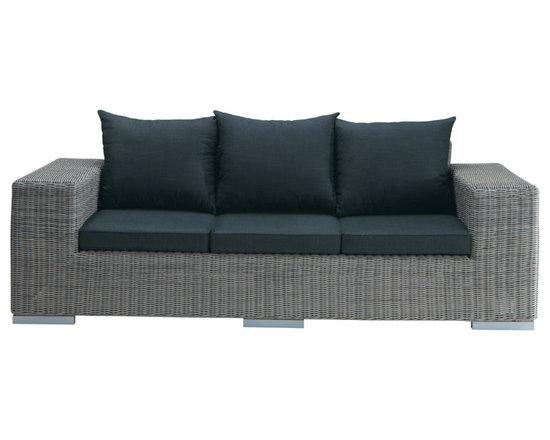 Gray sofa Bosphore -