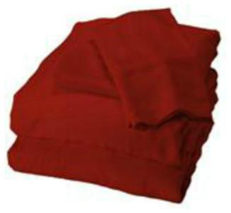 Bamboo King Sheet Set, Cayenne sheets