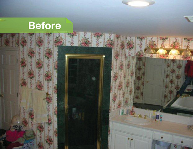 traditional  HT: Rich Bedroom Makeover