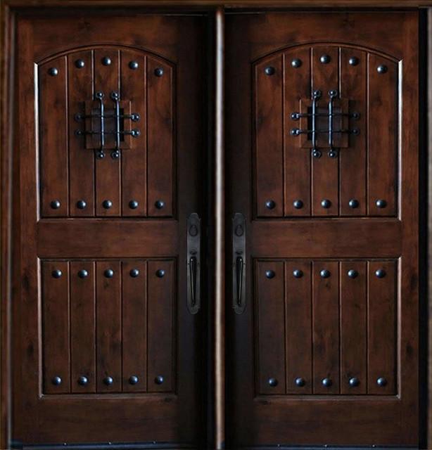 Maricopa Double Doors - Rustic - Front Doors - other metro ...