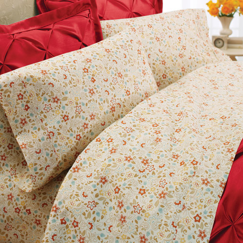 Better Homes And Gardens Percale Bedding Sheet Set Contemporary Sheet And Pillowcase Sets