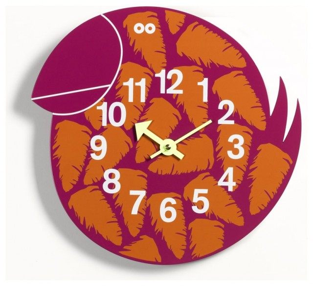 George Nelson: Talulah the Tucan Clock by Vitra eclectic-clocks
