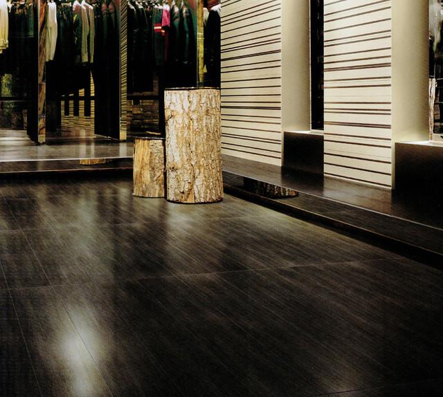 Porcelain floor tile luminated wood series for Wood flooring miami