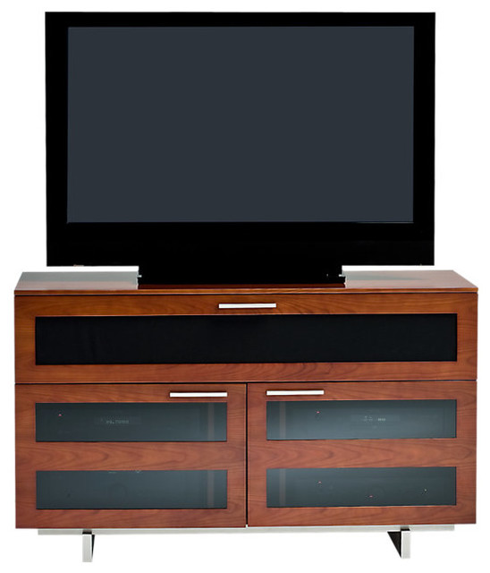 Avion II TV Stand Freestanding, Tall Double Wide Freestanding, Natural ...