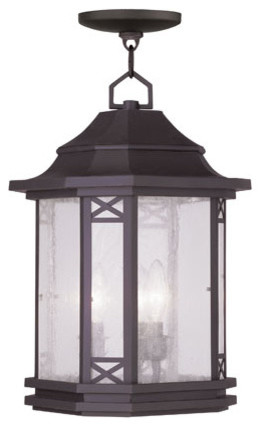 Tahoe Bronze Three-Light Outdoor Chain Hang modern-outdoor-lighting