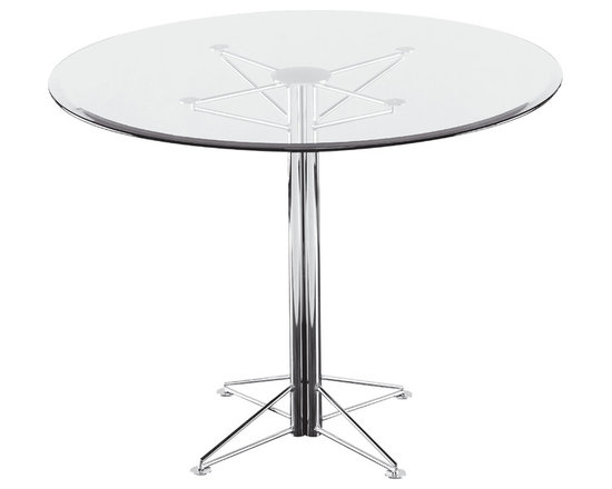 Stella Dinette Table - CLEAR