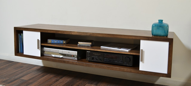 Terra Mar Modern Wall Mounted Media Console