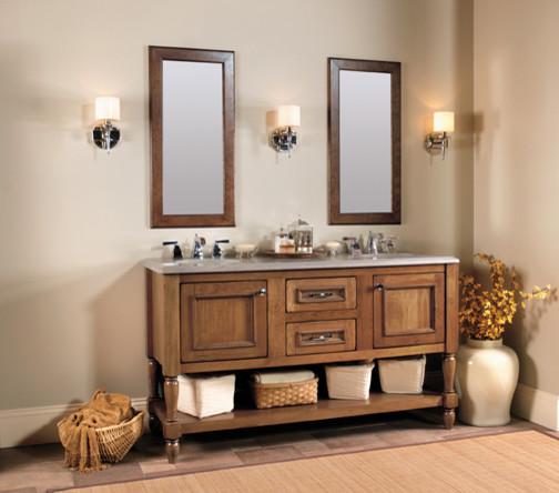 elegant bath collection featuring designer suites